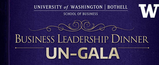 Business Leadership Dinner: the Un-Gala