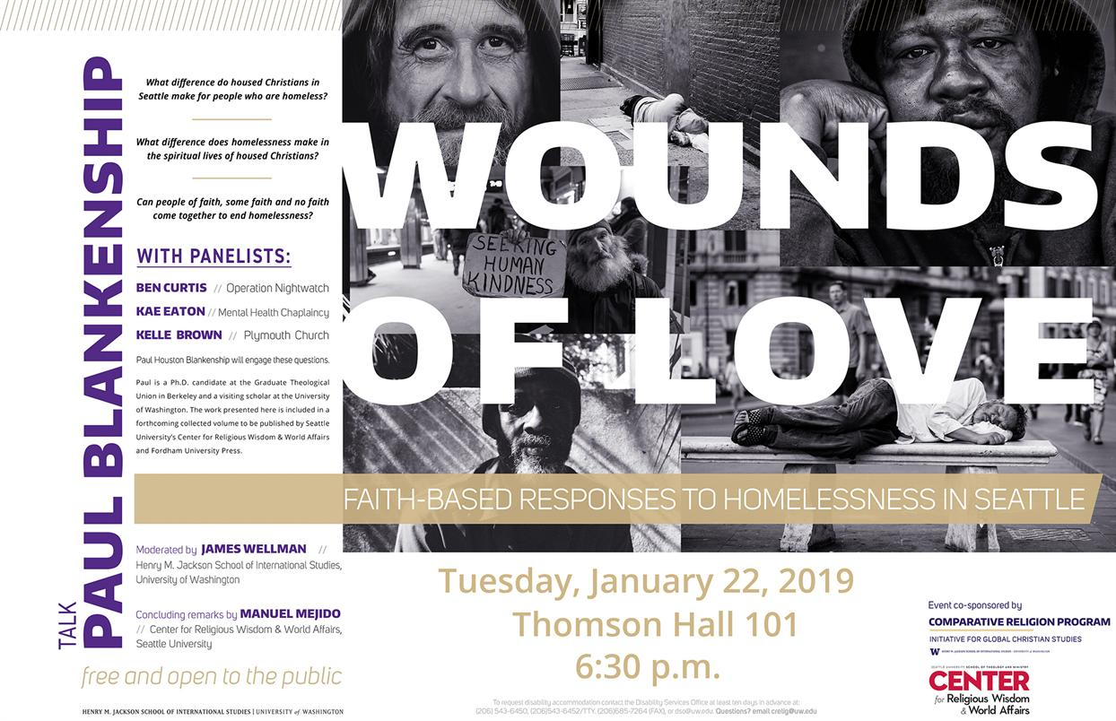TALK - Wounds of Love: Faith-Based Responses to Homelessness in Seattle