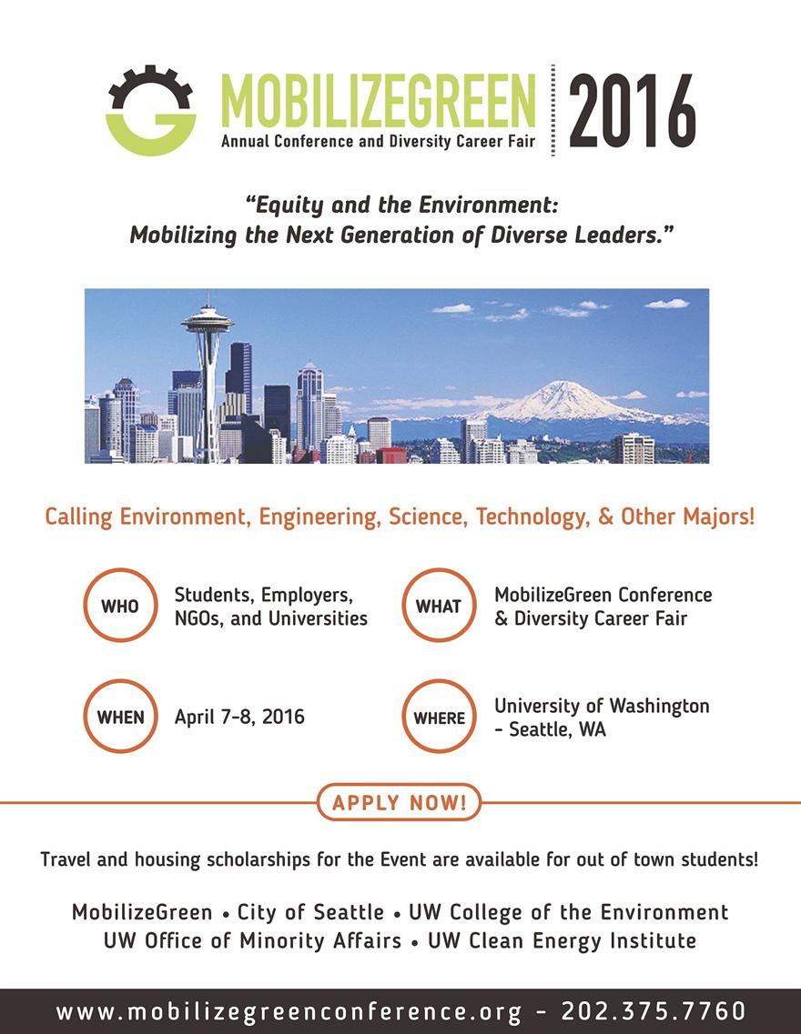 MobilizeGreen Annual Conference and Diversity Career Fair