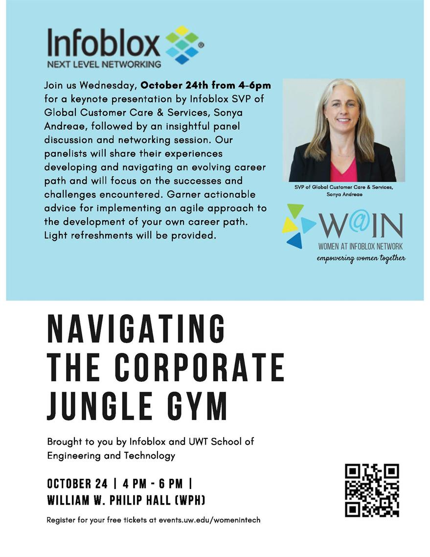 Women in Technology Keynote & Panel: Navigating the Corporate Jungle Gym