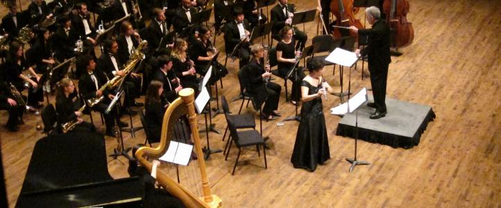 Wind Ensemble with Donna Shin, flute: Korea Tour Preview Concert