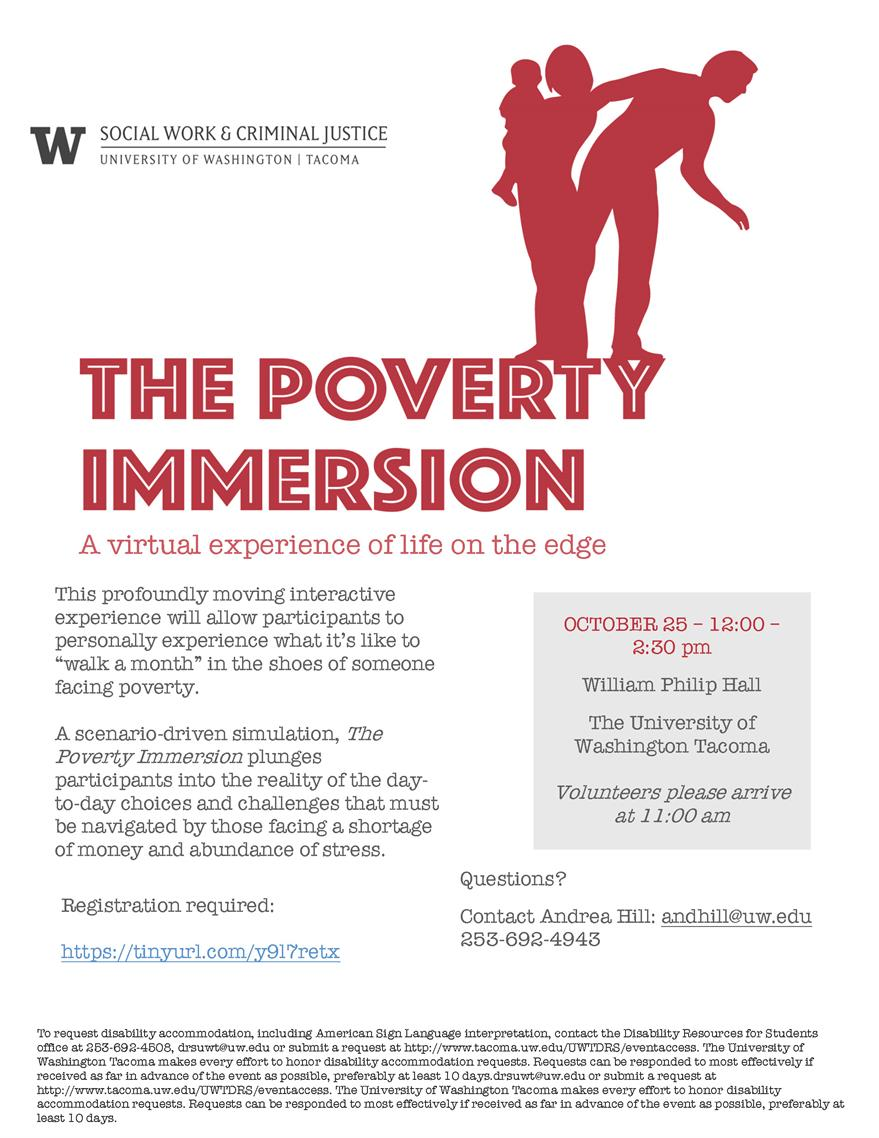 The Poverty Immersion