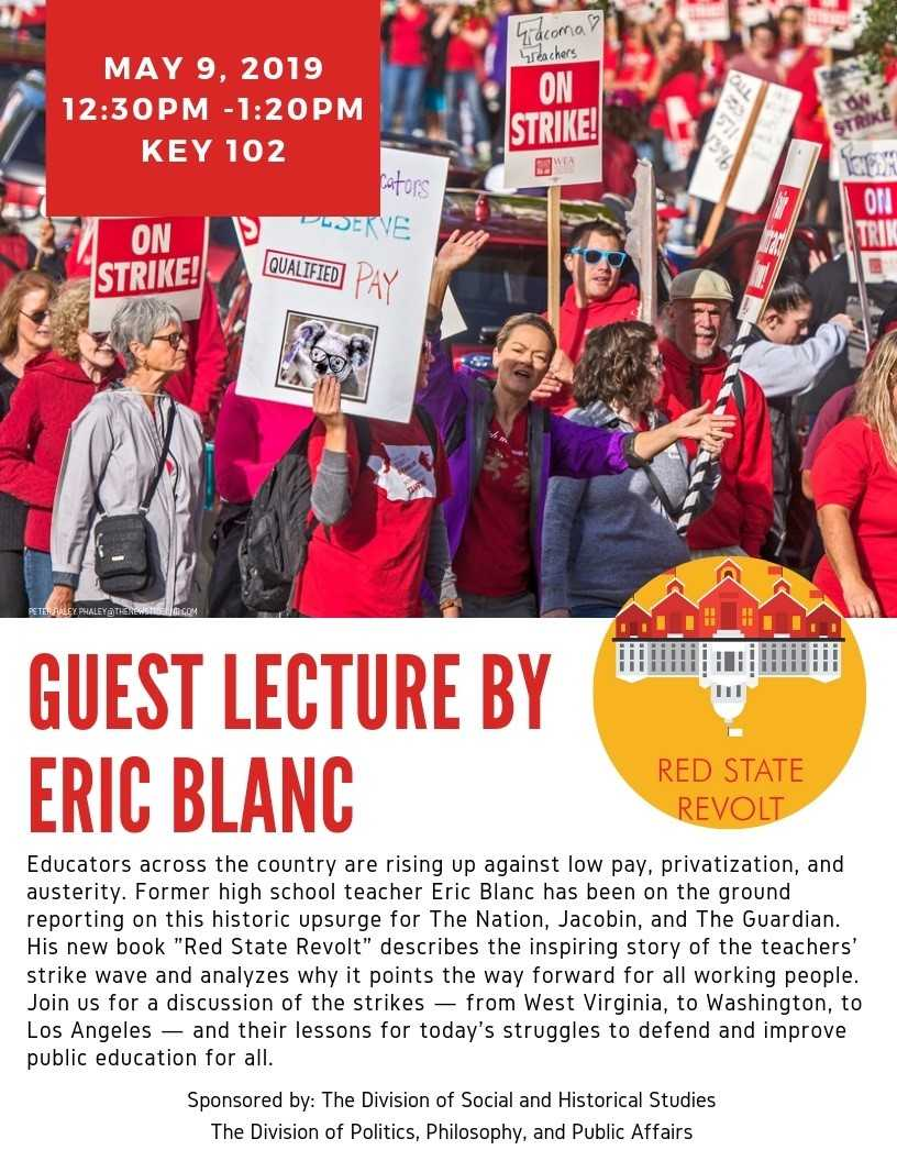 Guest Lecture by Eric Blanc
