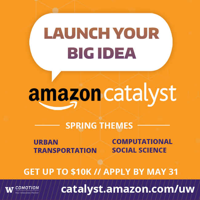 AMAZON CATALYST // INFO SESSION