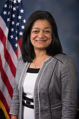 U.S. Rep. Praimla Jayapal: Post-Election Discussion Forum