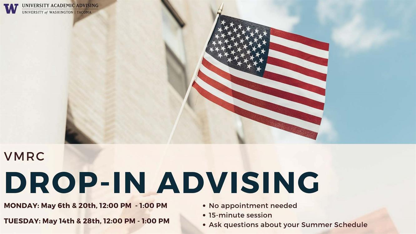 Undergraduate Academic Advising Drop-In Session