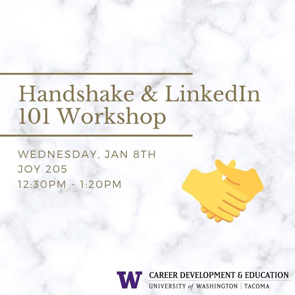 Handshake & Linked In 101