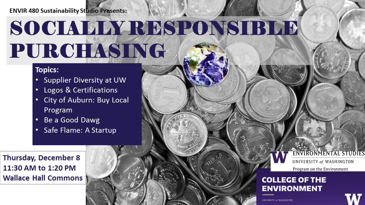 Sustainability Studio presentations: Socially Responsible Purchasing
