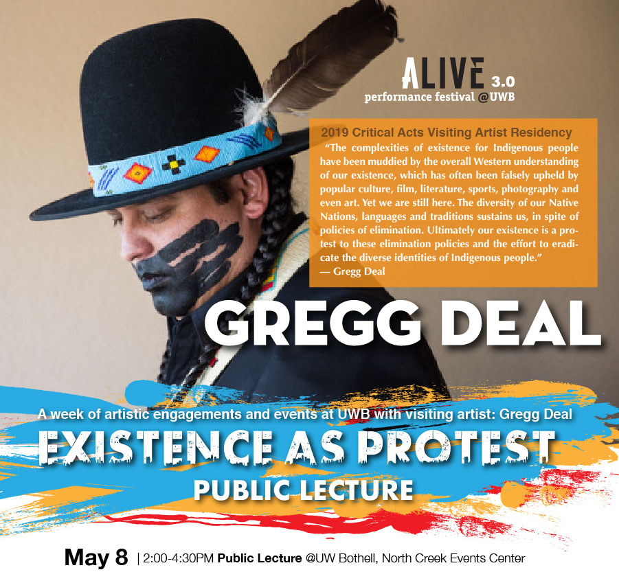 Gregg Deal: Existence As Protest (Artist Talk)