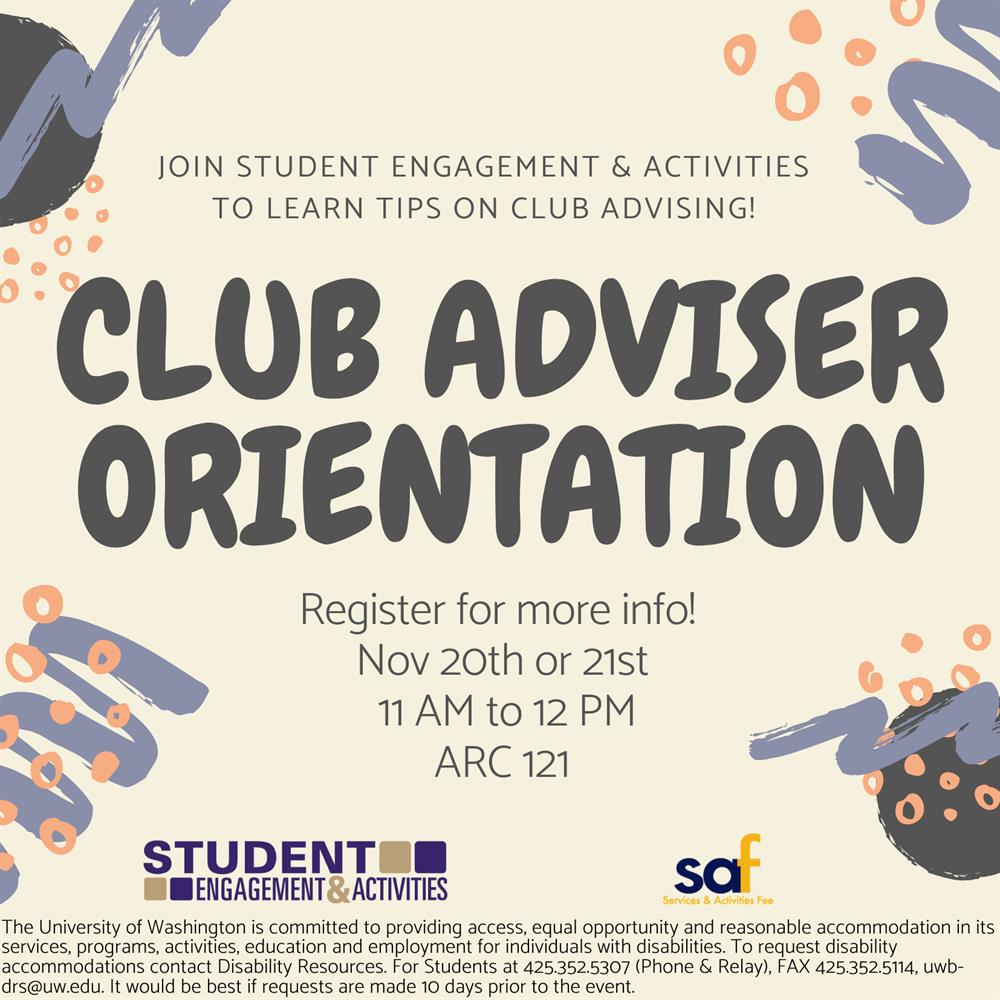 SEA's Club Adviser Orientation