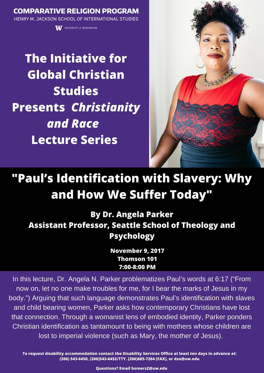 Paul's Identification with Slavery: Why and How We Suffer Today