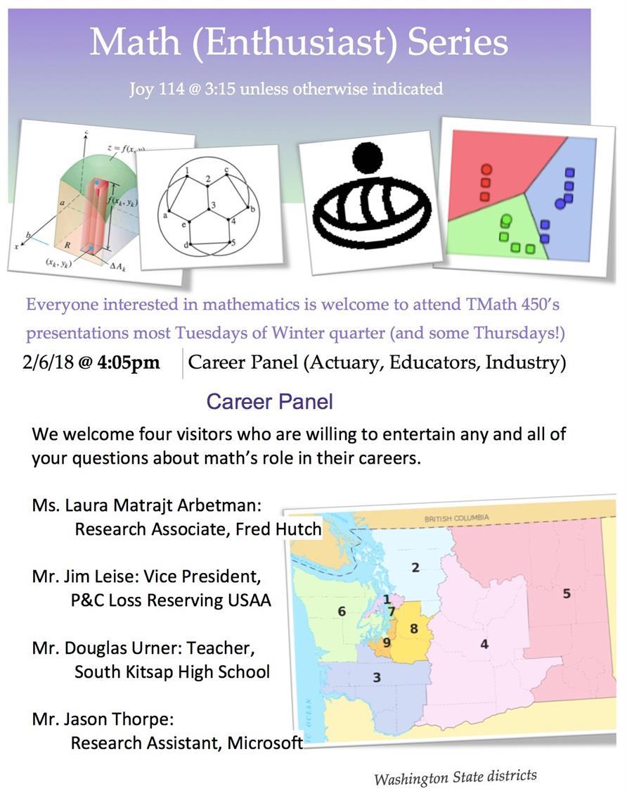 Math (Enthusiast) Series: Career Panel