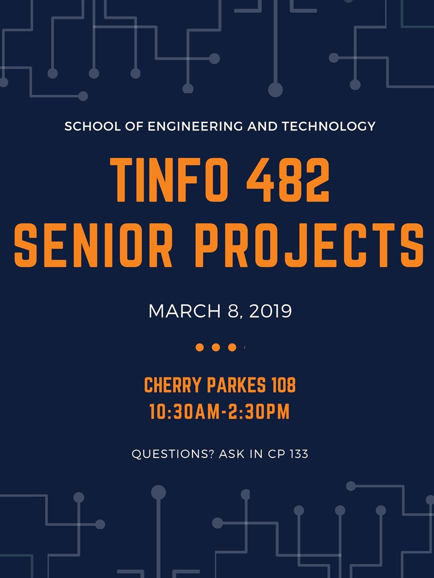 TINFO 482 - Senior Projects CP 108