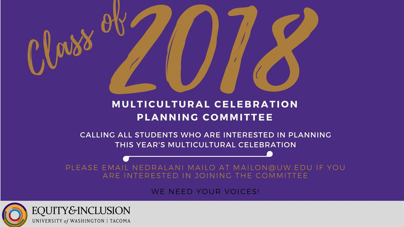Multicultural Celebration Planning Committee