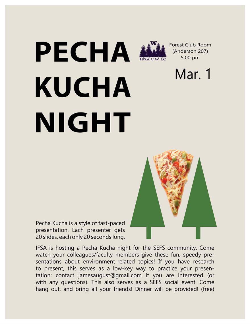 Environmental Pecha Kucha Night