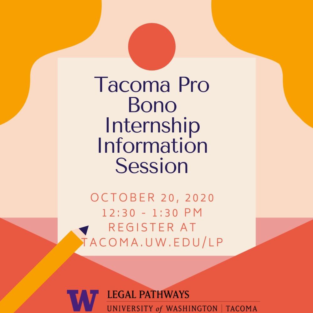 Tacoma Pro Bono Internship Information Session