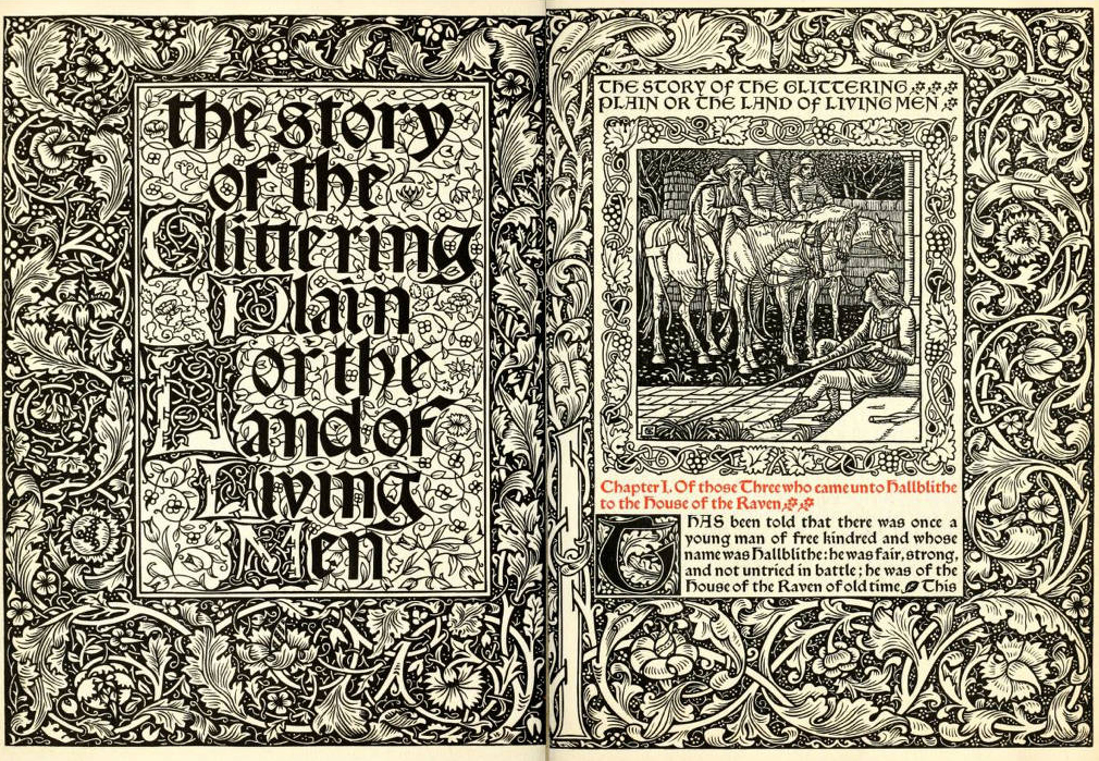 Yuri Cowan: William Morris's Book Collecting and the Kelmscott Press