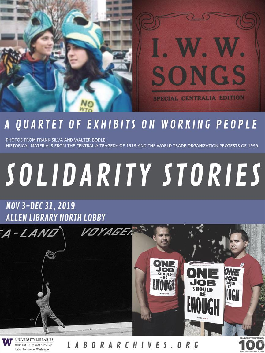 Solidarity Stories: A Quartet of Exhibits Celebrating Working People