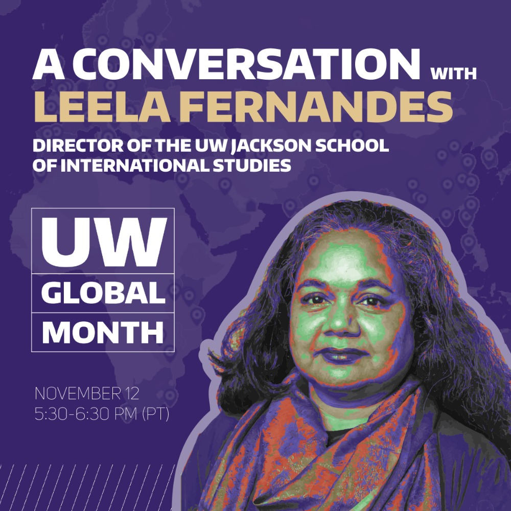 Global Engagement: A Conversation with Leela Fernandes and Akhtar Badshah