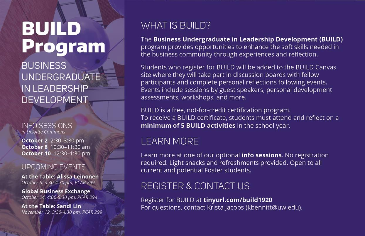 BUILD Program Info Session