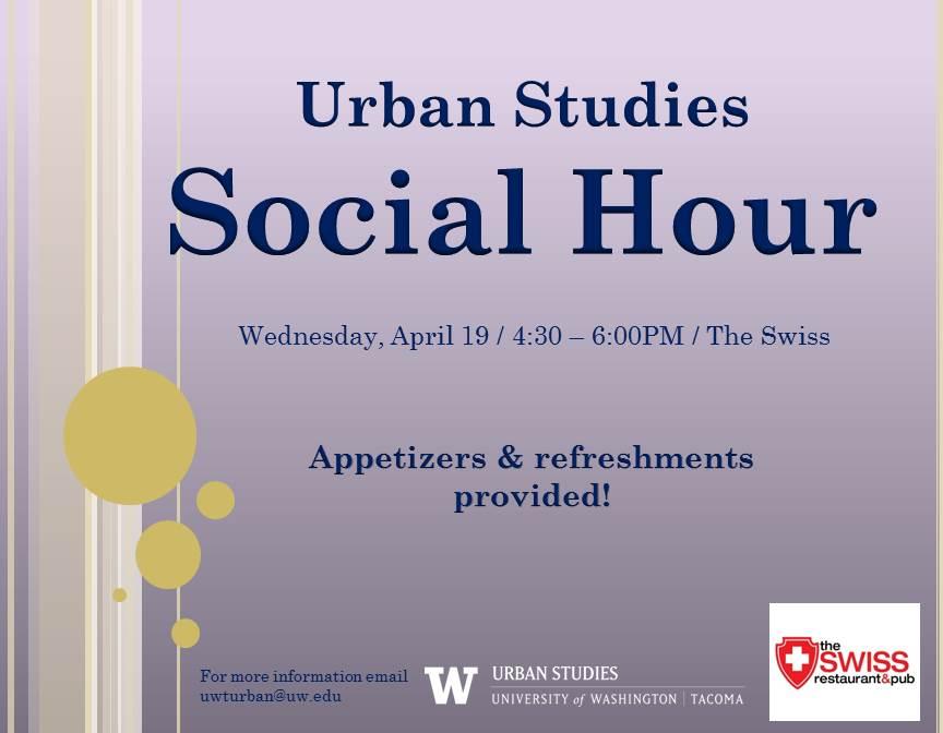 Urban Studies Program Spring Social Hour