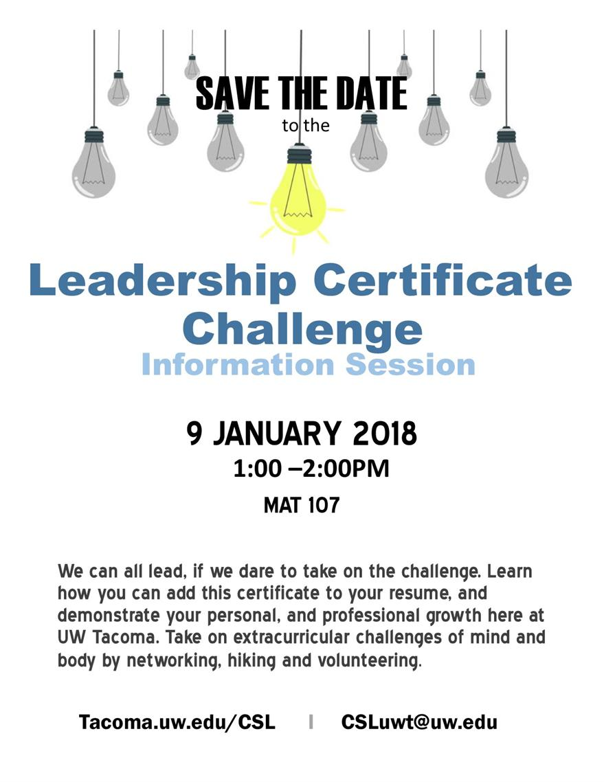 Leadership Challenge Information Session
