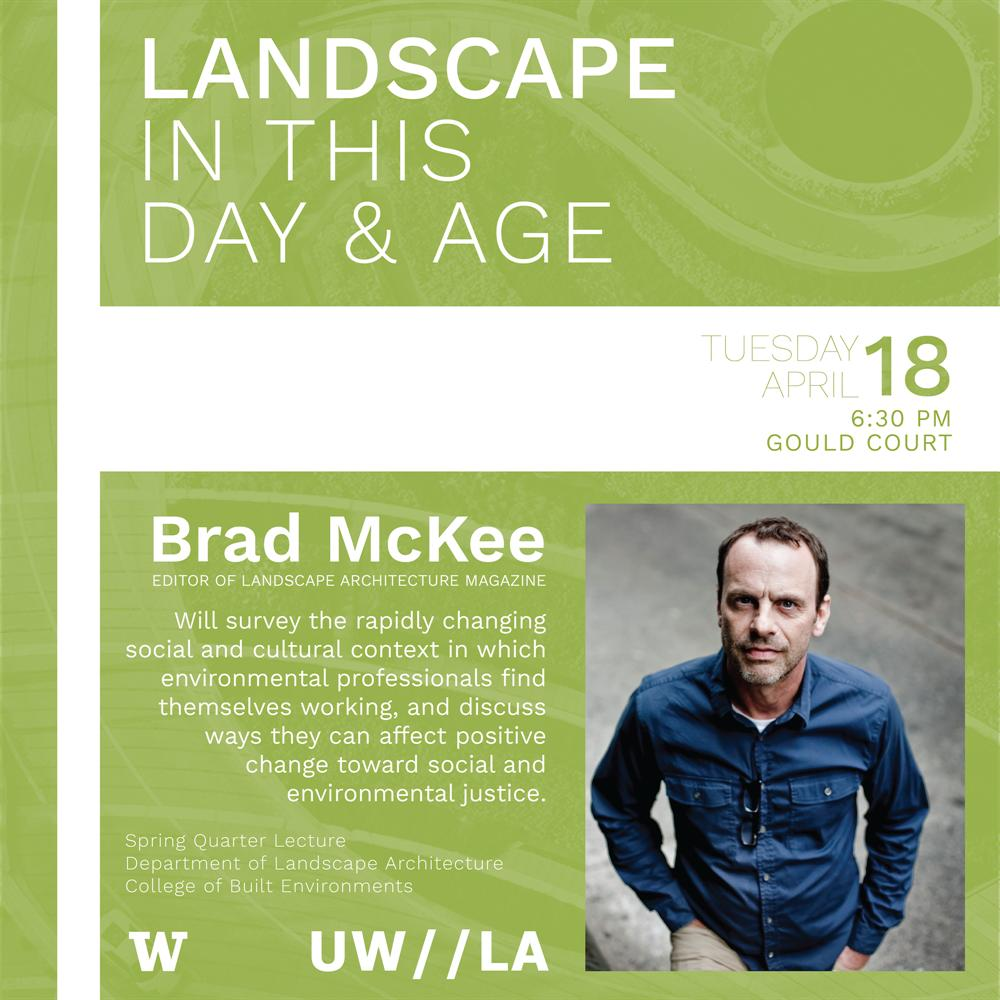 "Brad McKee, LAM editor: ""Landscape in This Day and Age"""
