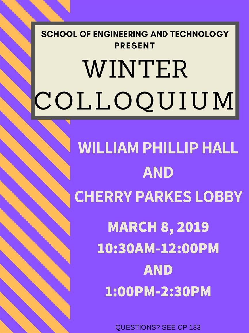 Winter End of the Quarter Colloquium WPH & CP Lobby