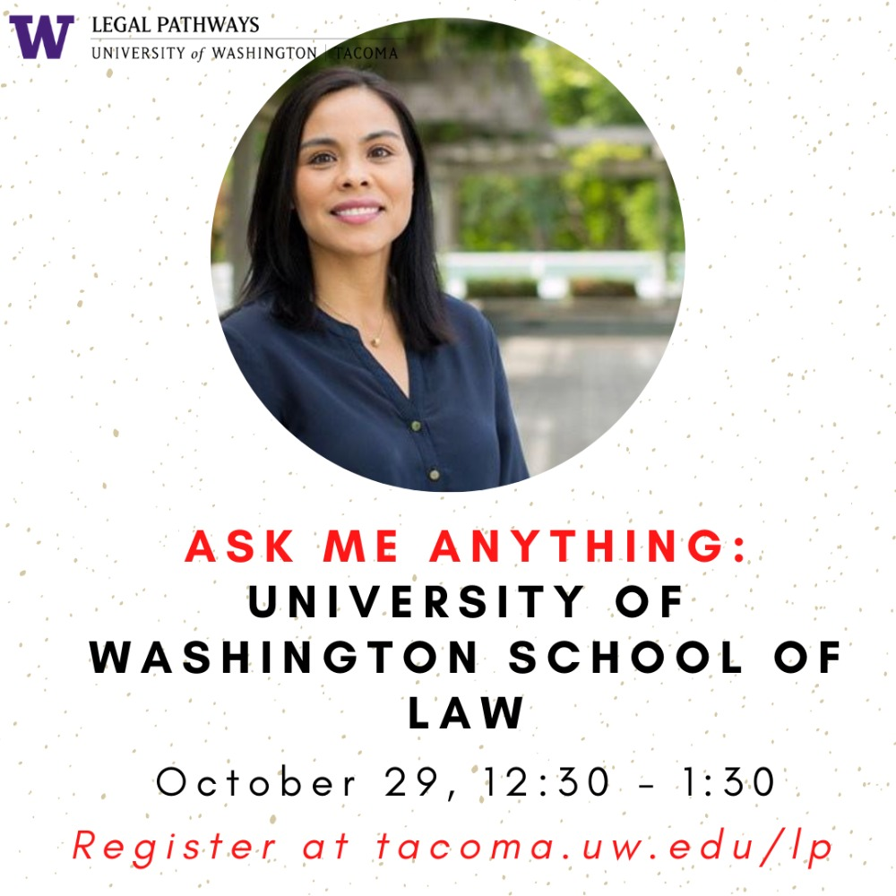 "University of Washington School of Law -- ""Ask Me Anything"" with the Asst. Dean of Admission and Financial Aid!"