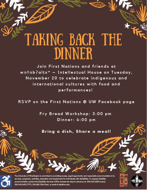 Taking Back the Dinner: Decolonizing Thanksgiving