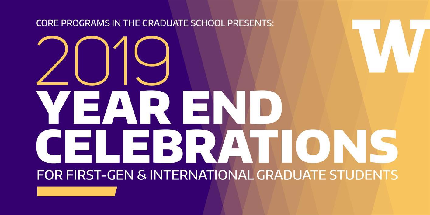 First-Generation Graduate Student Celebration!