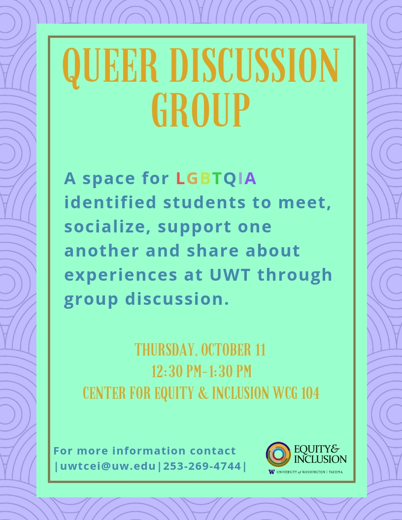 Queer Discussion Group