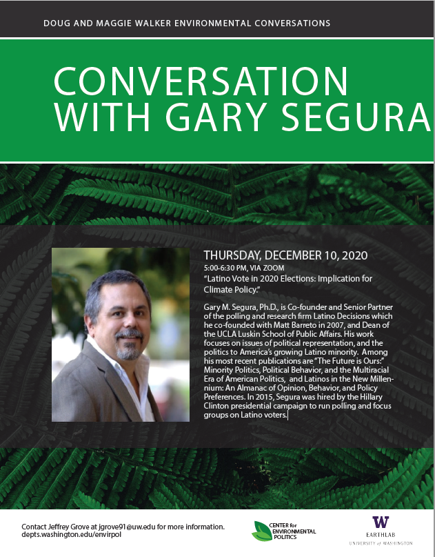 Environmental Conversations: Latino Vote in 2020 Elections: Implication for Climate Policy