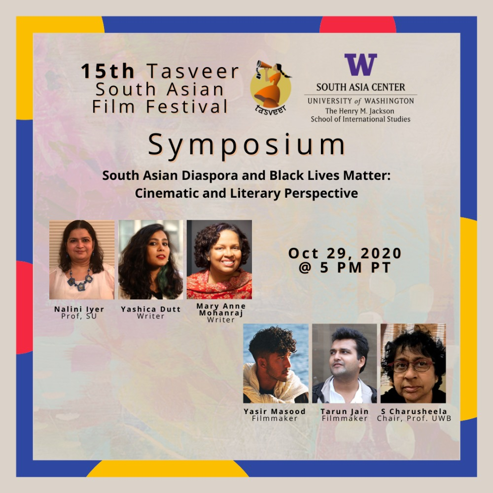 Symposium: South Asian Diaspora and Black Lives Matter: Cinematic and Literary Perspective [ONLINE]