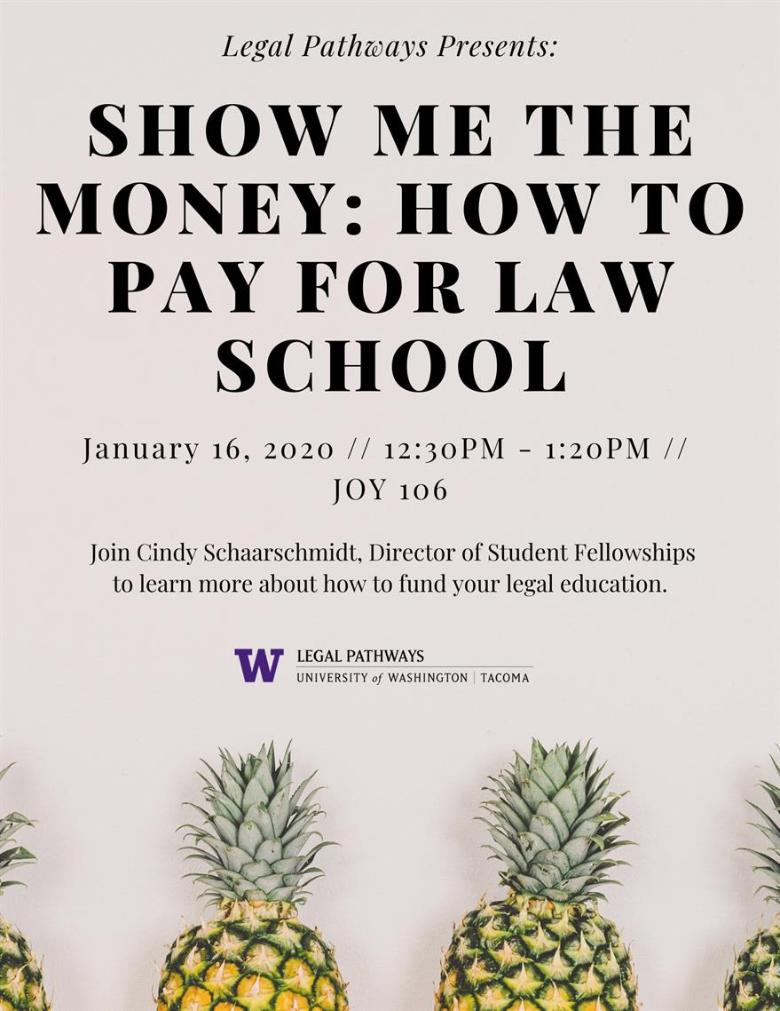 Show Me the Money: How To Pay For Law School