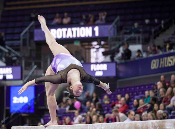 2017 Husky Athletics Appreciation Day - Gymnastics vs. Arizona