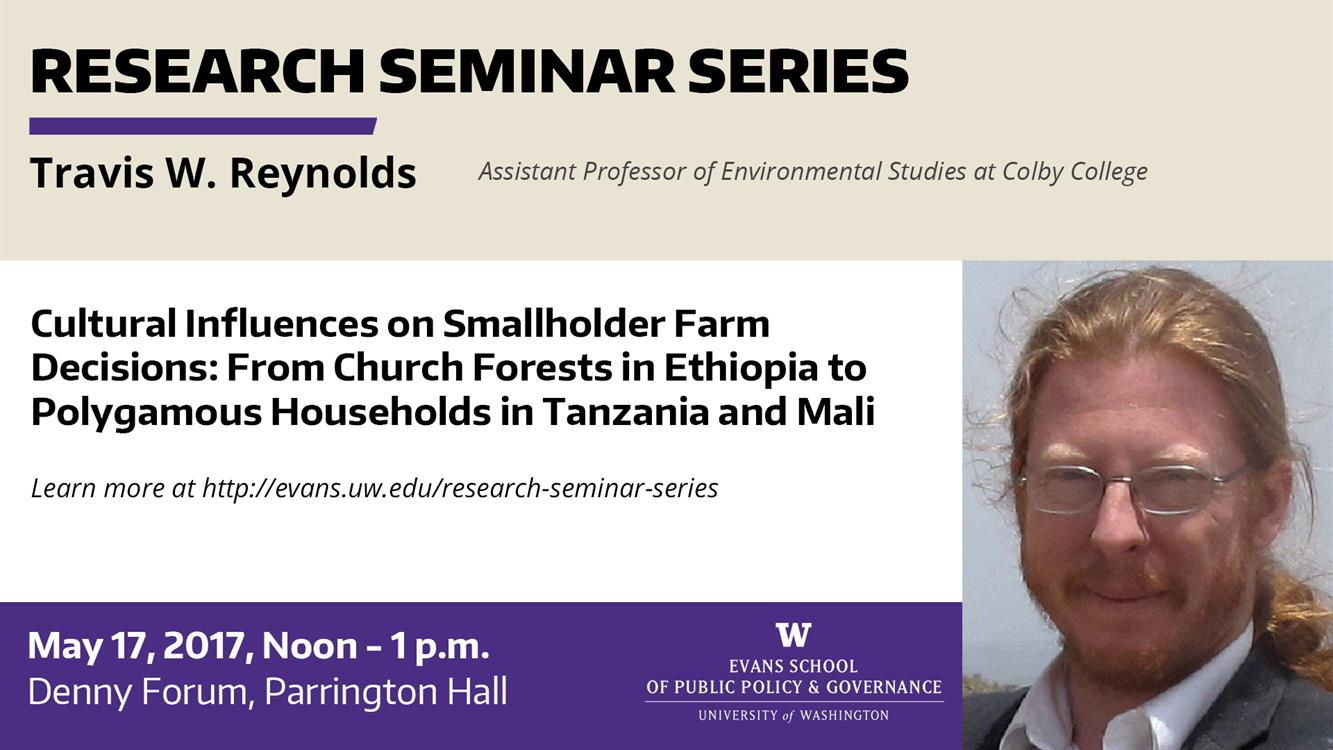 Cultural Influences on Smallholder Farm Decisions: From Church Forests in Ethiopia to Polygamous Households in Tanzania and Mali