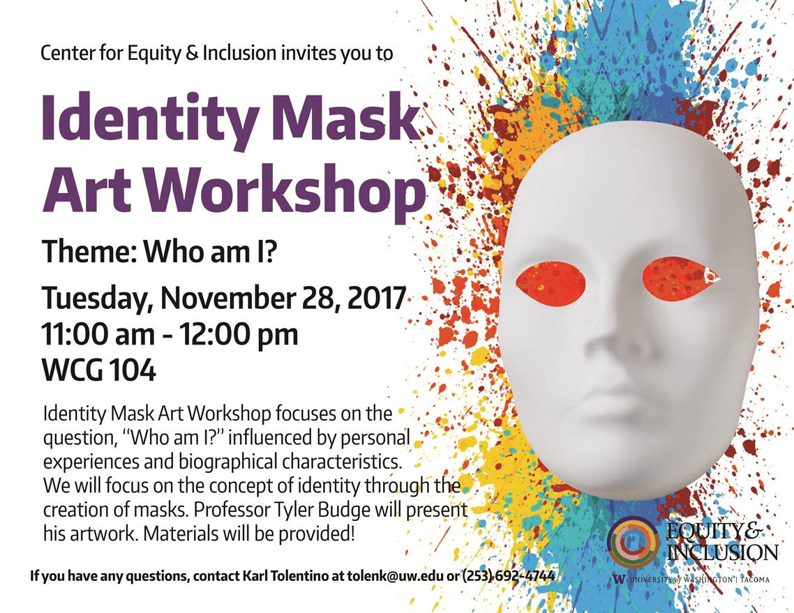 Identity Mask Art Workshop