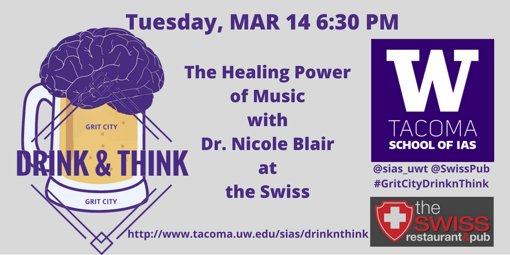 The Healing Power of Music -- Grit City Drink & Think