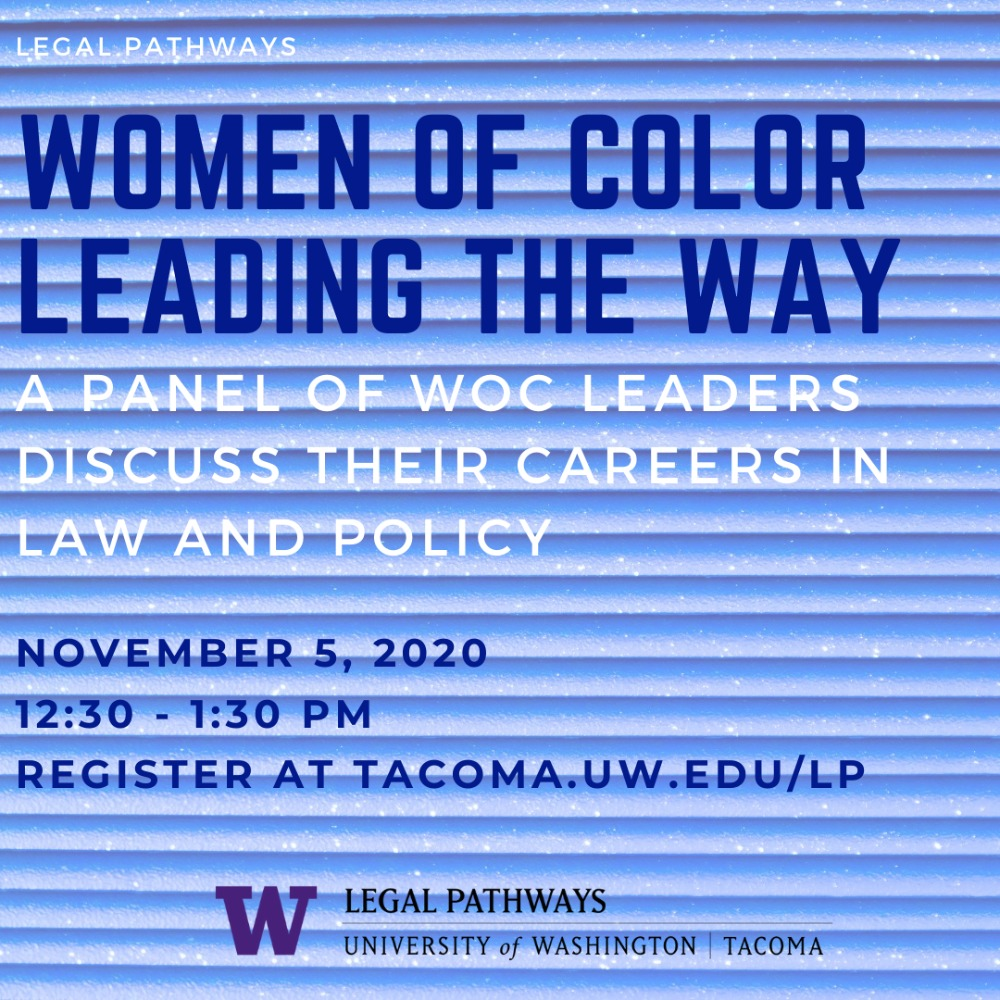 Women of Color Leading the Way: A Panel Conversation with WOC Leaders in the Law