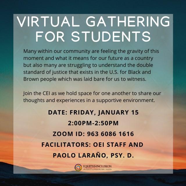 Student Virtual Gathering Space