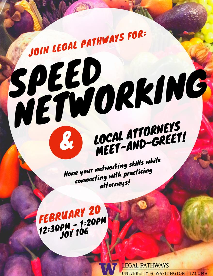 Legal Pathways Speed Networking!