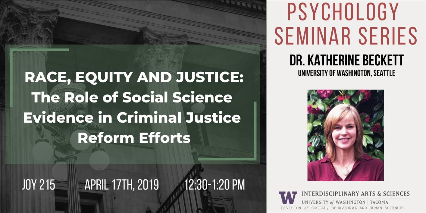 Race, Equity and Justice: The Role of Social Science Evidence in Criminal Justice Reform Efforts