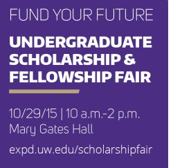 Undergraduate Scholarship and Fellowship Fair