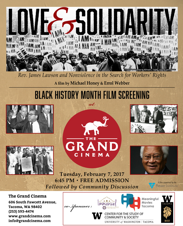 Love & Solidarity: Rev. James Lawson and Nonviolence in the Search for Worker's Rights