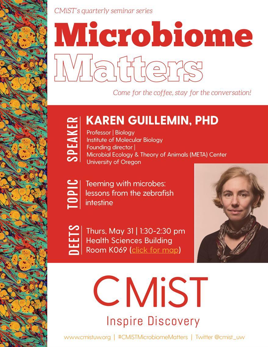 CMiST Microbiome Matters (a seminar series)