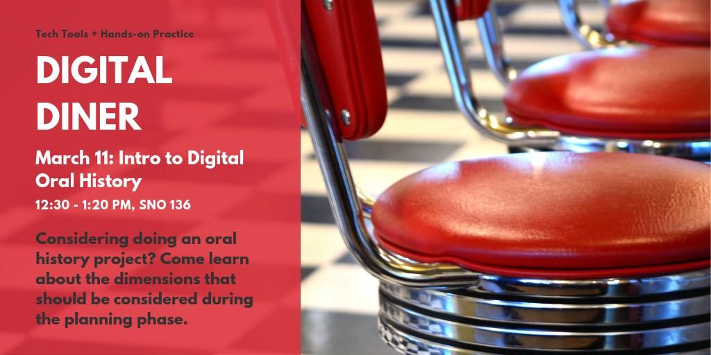 Digital Diner: Intro to Digital Oral History