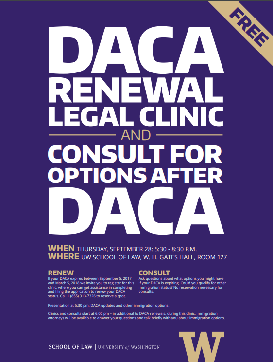 DACA Renewal Legal Clinic