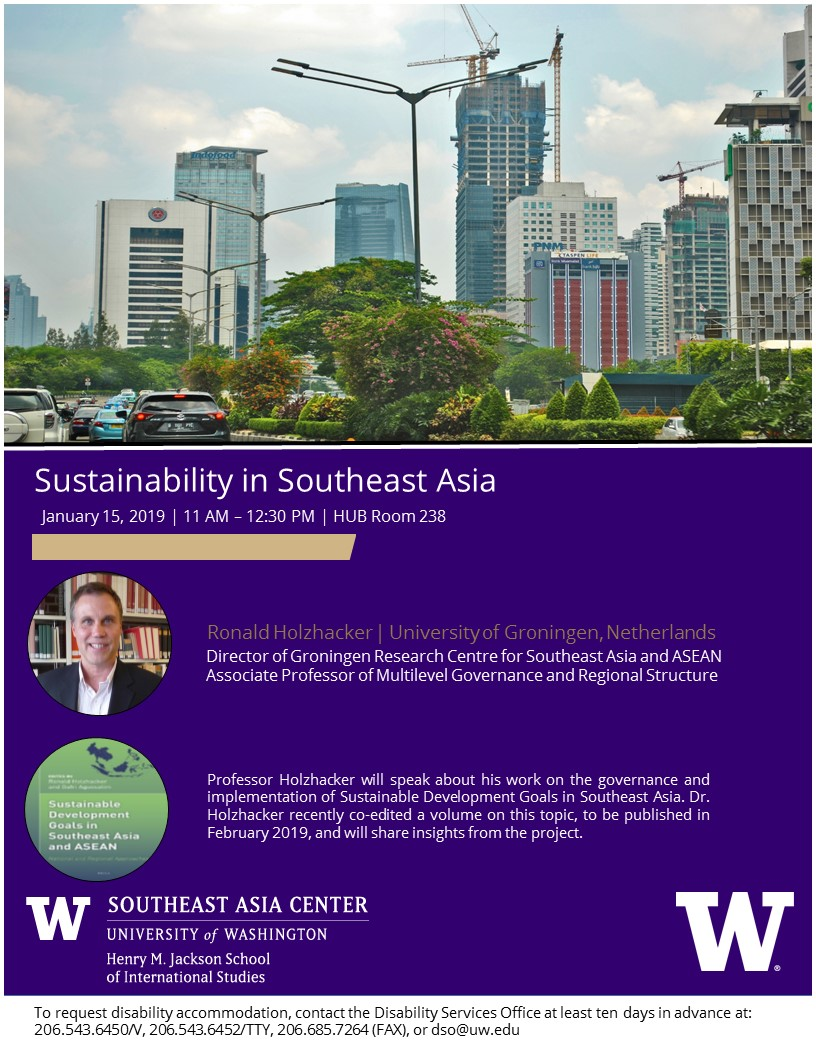 Sustainaibility in Southeast Asia