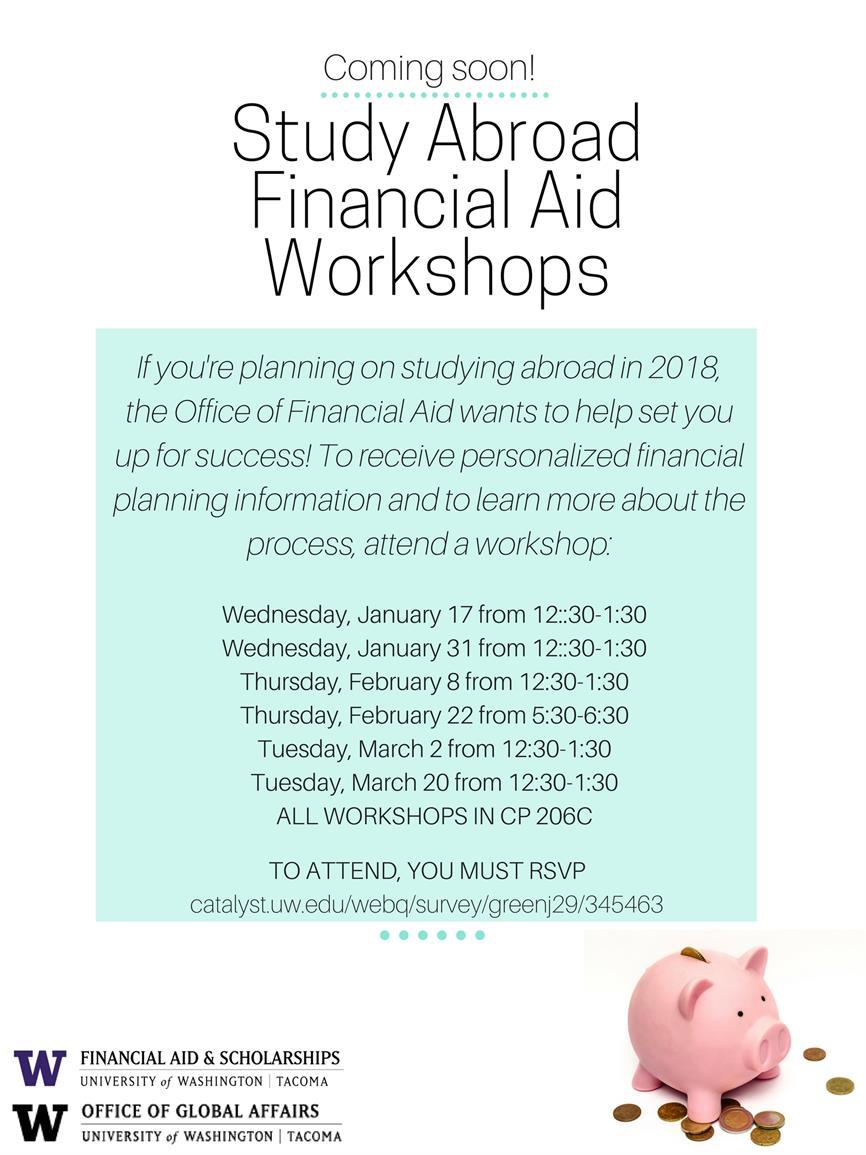 Study Abroad Financial Aid Workshop